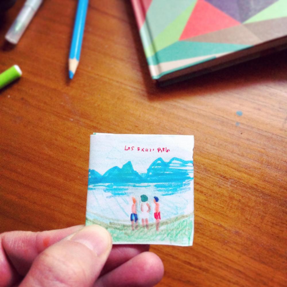 Maqueta del digipack edición especial.