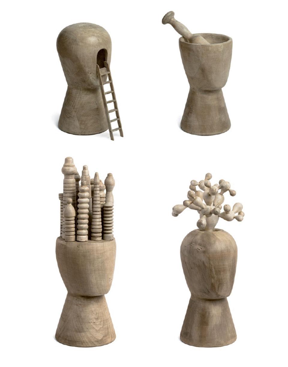 '¿Con qué objeto?', de Pep Carrió. Parte Diarios con cabezas.2