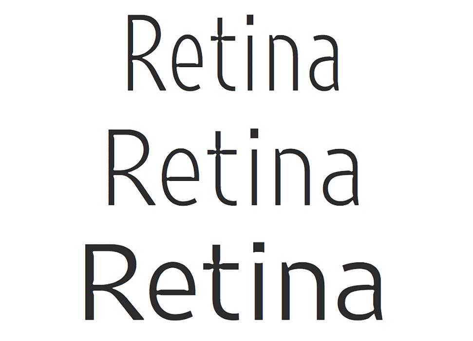 Retina 2016, Frere-Jones vuelve a llevar al límite la forma pura de las letras -1