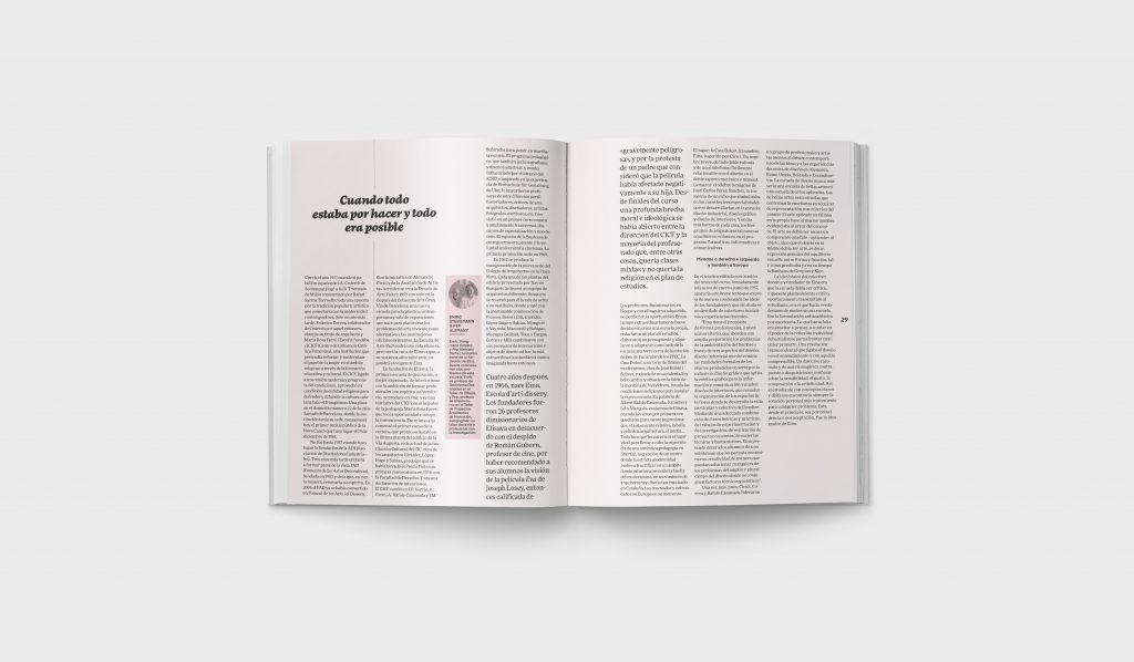 Revista Gràffica La Formación en Diseño - Art Opinión EINA1