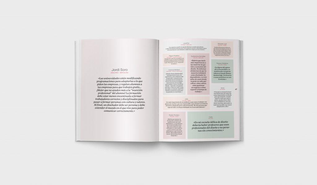 Revista Gràffica La Formación en Diseño - Encuesta