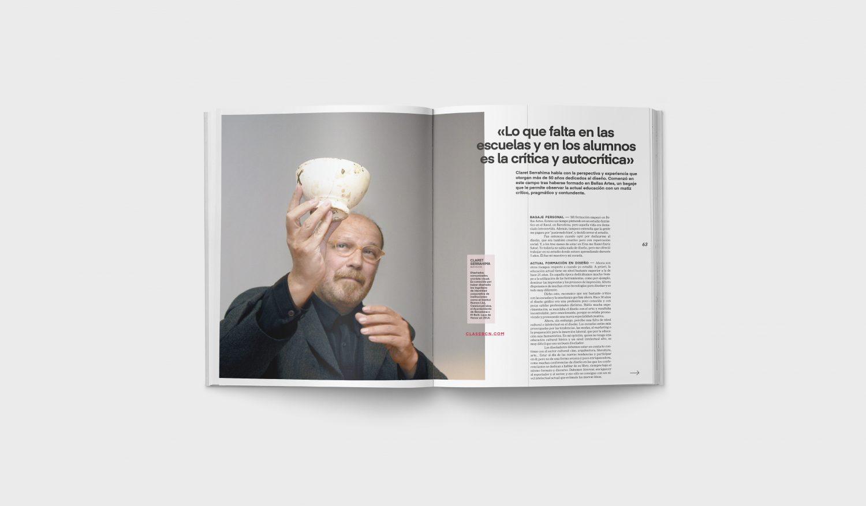 Revista Gràffica La Formación en Diseño - Entrevista Claret Serrahima1