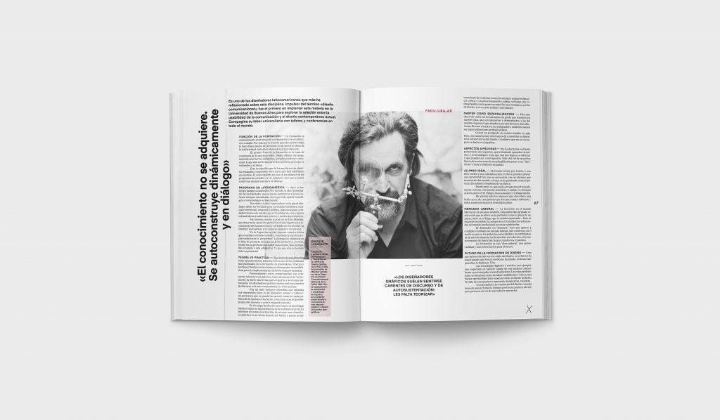 Revista Gràffica La Formación en Diseño - Entrevista Enrique Longinotti1