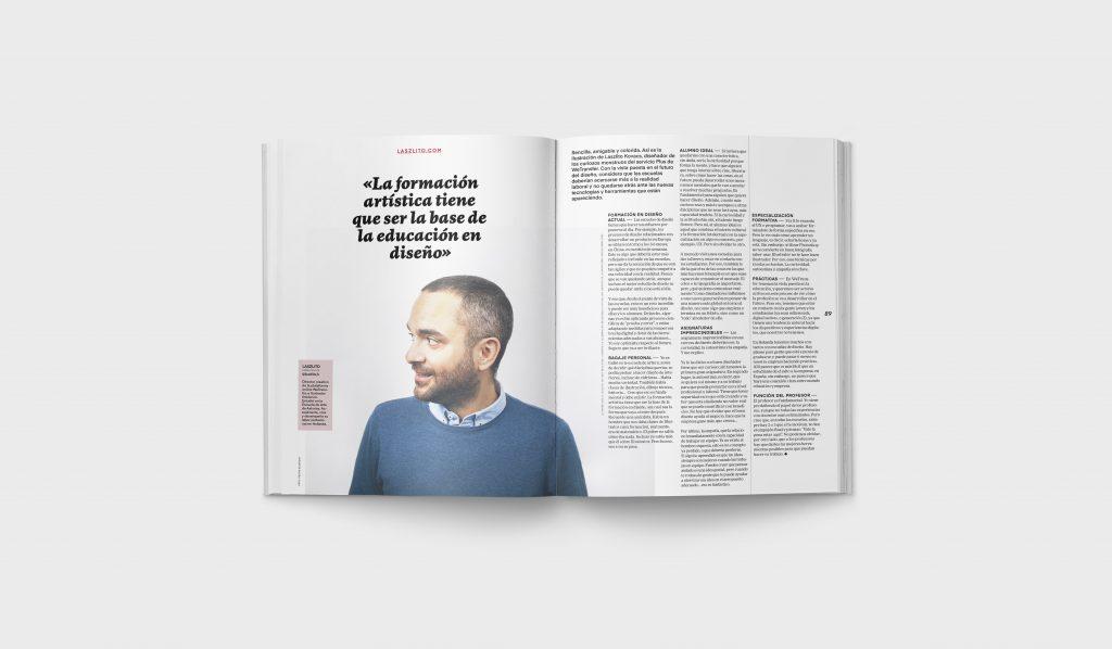 Revista Gràffica La Formación en Diseño - Entrevista Laszlito Kovacs1