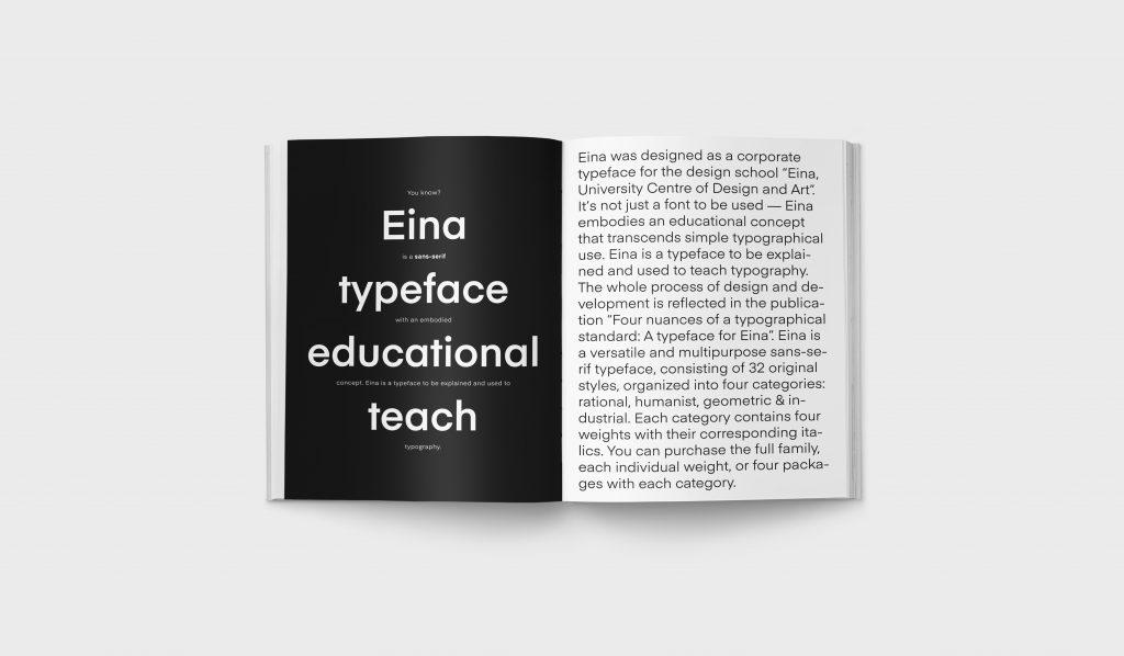 Revista Gràffica La Formación en Diseño - Tipografía EINA1