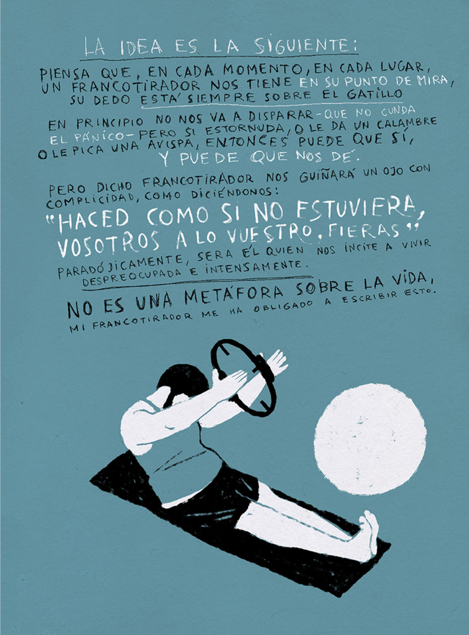 Riki Blanco - El Camino Mas Largo - Ilustracion44