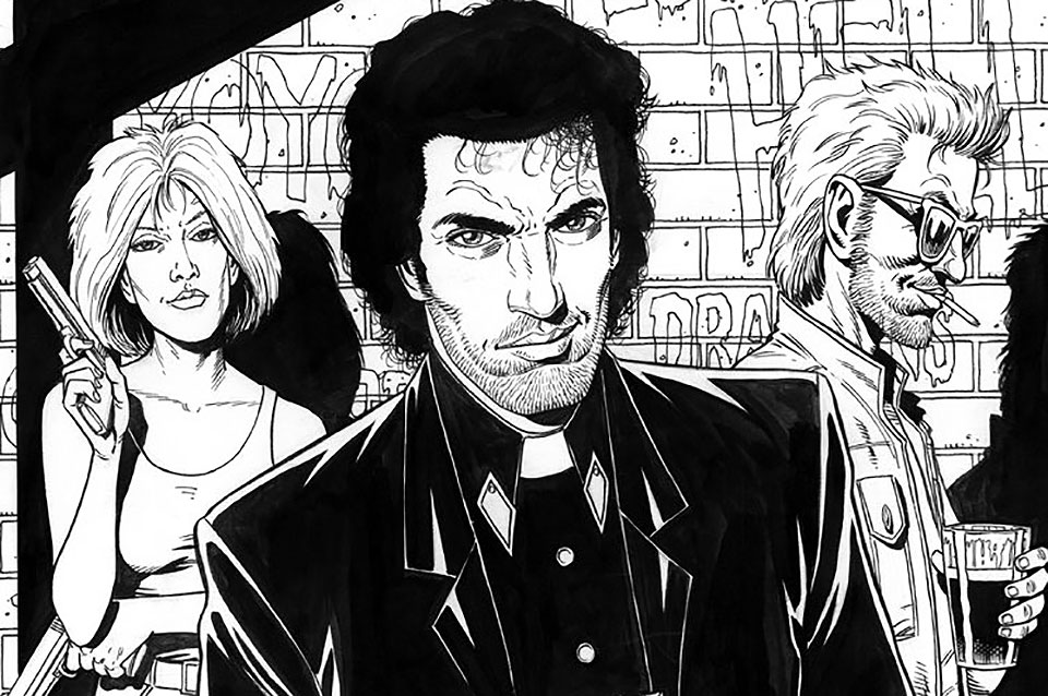 Fallece el creador de 'Preacher' y dibujante de 'Punisher', Steve Dillon - 5