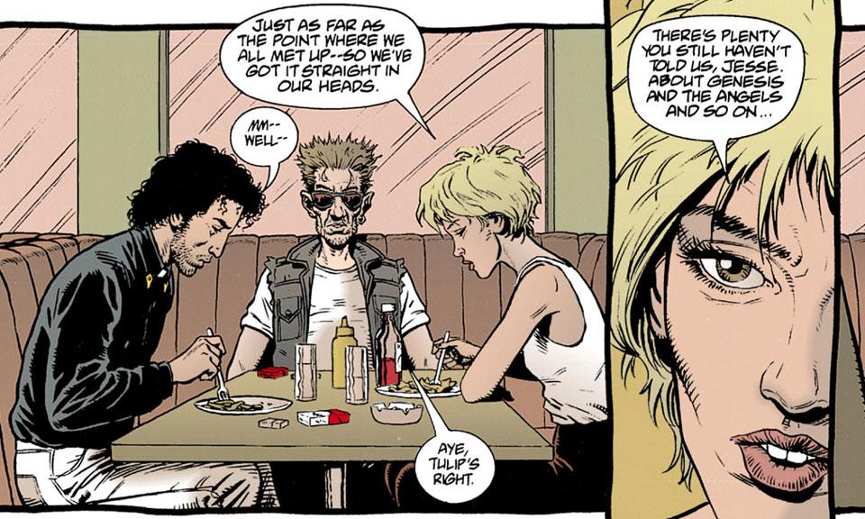 Fallece el creador de 'Preacher' y dibujante de 'Punisher', Steve Dillon - 1