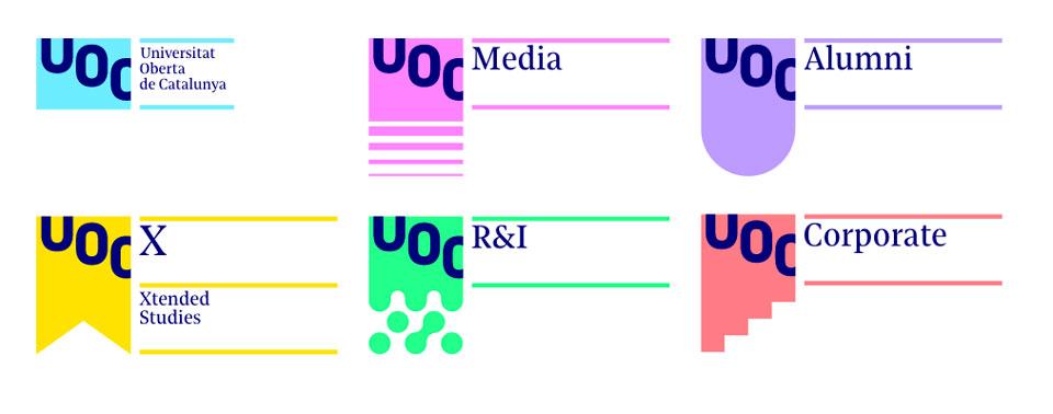 UOC Brand, la identidad gráfica que muchas universidades querrían - 2