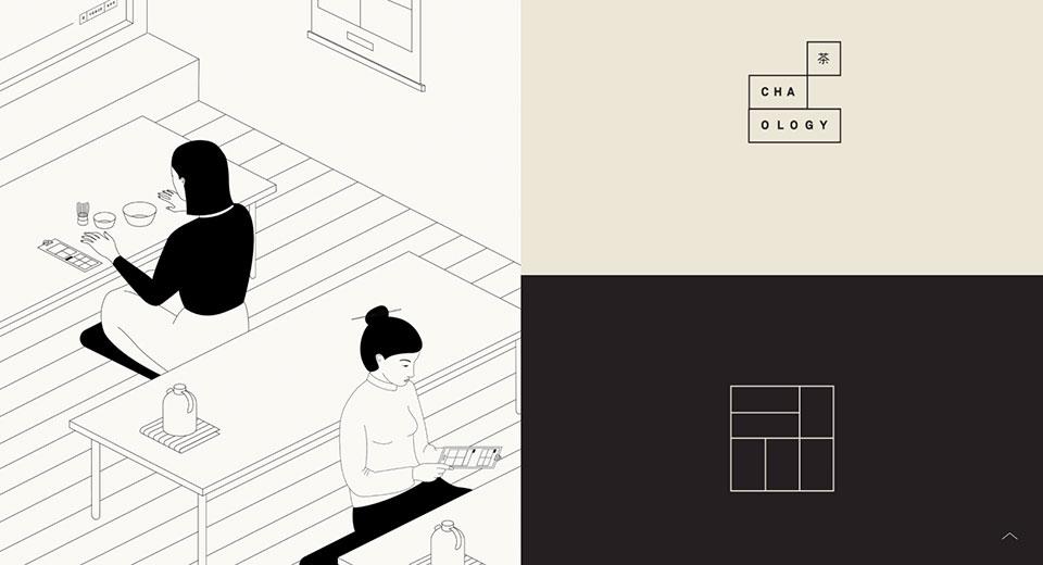 Un trocito de Japón en Manchester gracias al branding de Cha.ology creado por Alphabet