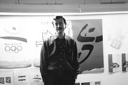 Josep Maria Trias, diseñador del logo de las olimpiadas de Barcelona 92
