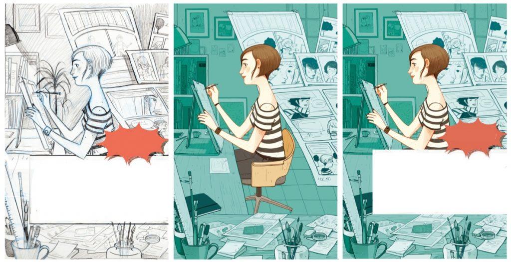 'Creando personajes' de la ilustradora Laura Pérez