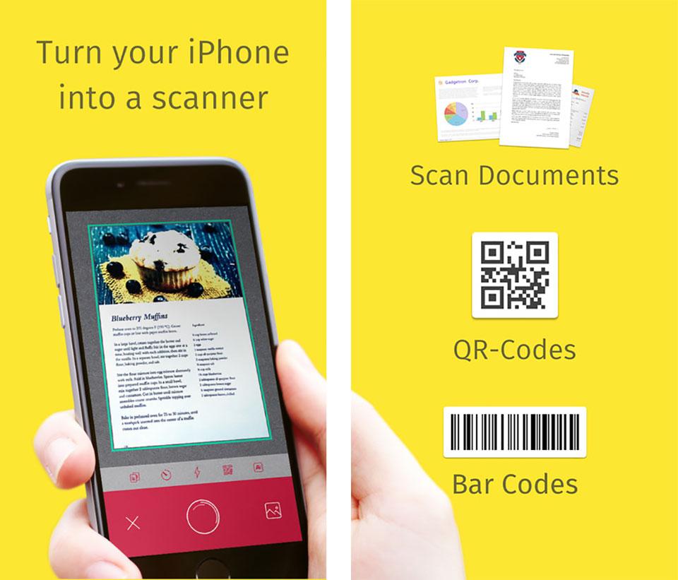 Un escáner portátil en tu móvil con Scanbot - 3