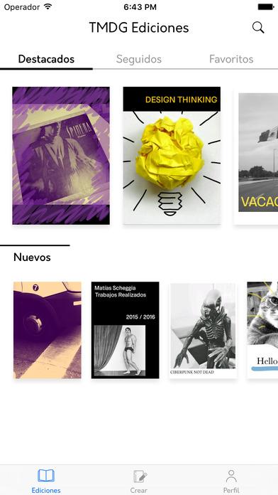 TRImarchi Ediciones, la app para que los amantes de los fanzines diseñen sus propias publicaciones - 5
