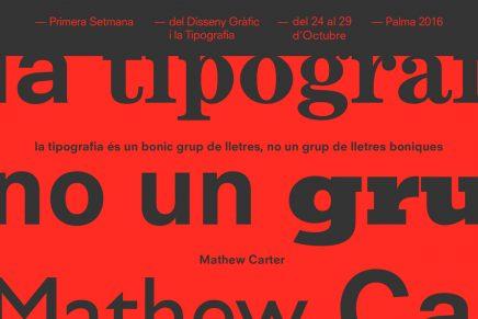 Setfonts 2016, el festival de la 1ª semana del Diseño Gráfico y la Tipografía en Palma