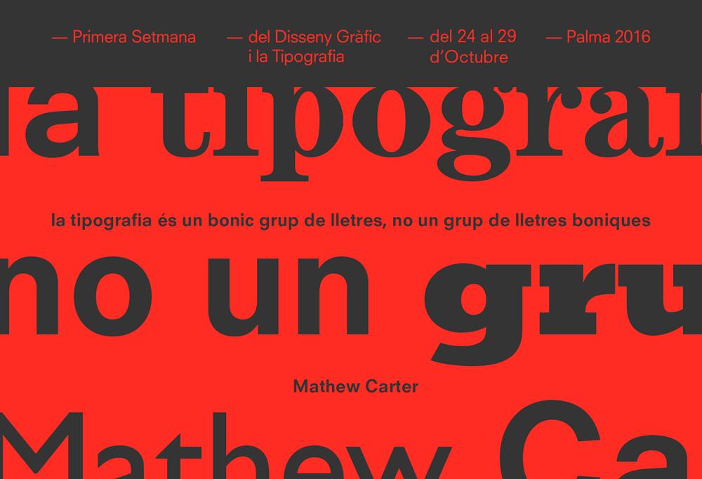 Setfonts 2016, el festival de la 1ª semana del Diseño Gráfico y la Tipografía en Palma - 2