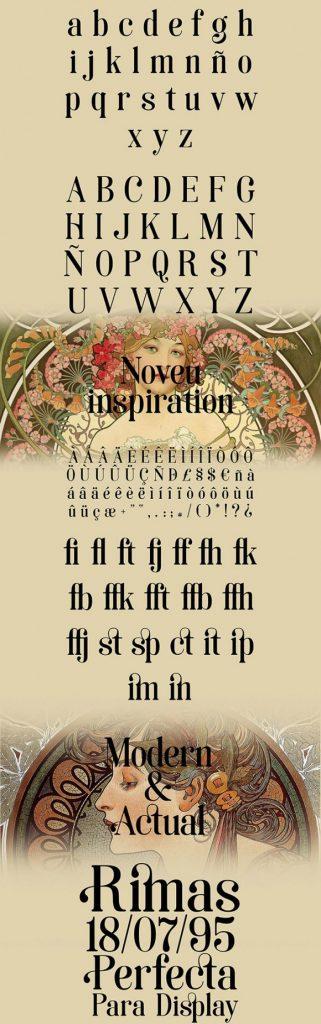 La tipografía Art Noveau homenaje a la ciudad de Soria - 6