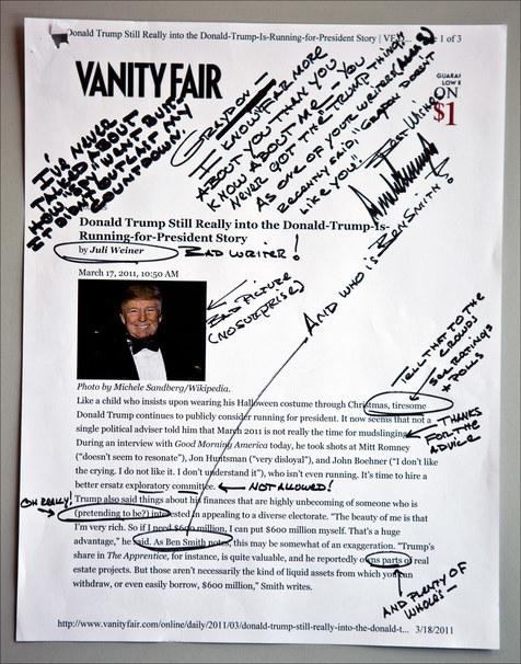 ¿Cómo es BF Tiny Hand, la tipografía inspirada en la caligrafía de Donald Trump? -2