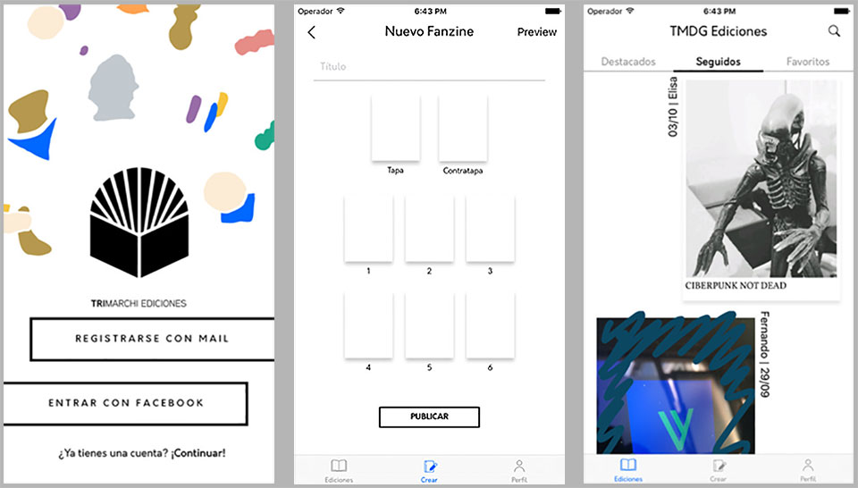 TRImarchi Ediciones, la app para que los fans de los fanzines diseñen sus propias publicaciones - 0