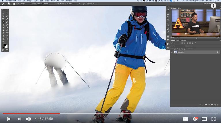 Cómo quitar gente del fondo de una fotografía con Photoshop