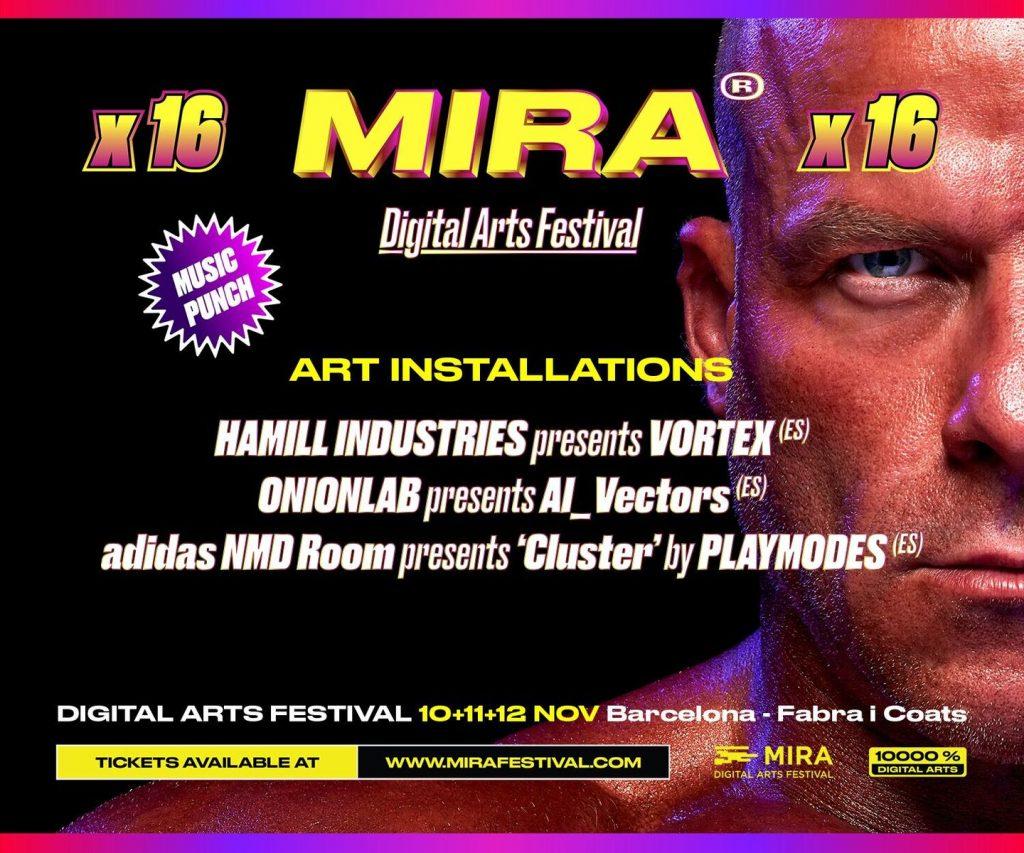 El festival MIRA 2016 regresa más musculoso que nunca