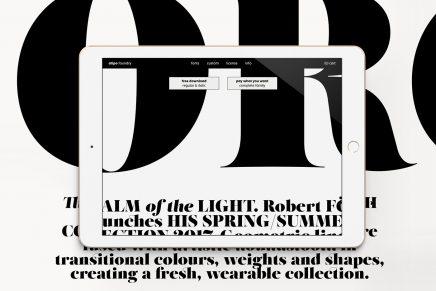 Atipo Foundry nace con un gran descuento en tipografías bajo el brazo