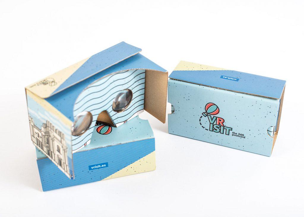 VRisit, la postal de realidad virtual de 360º diseñada por Narita 8
