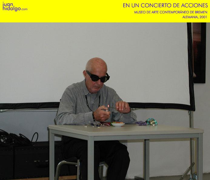 Juan Hidalgo, Premio Nacional de Artes Plásticas 2016 - 10