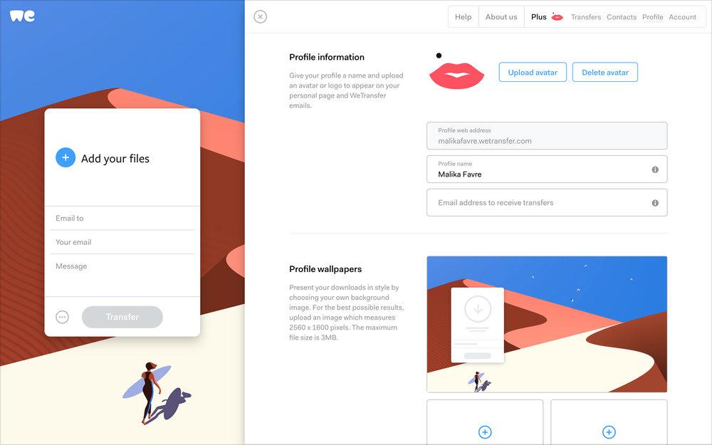 «El feedback de nuestros usuarios ha influido en muchas de los decisiones de diseño del nuevo WeTransfer», Laszlito Kovacs - 5
