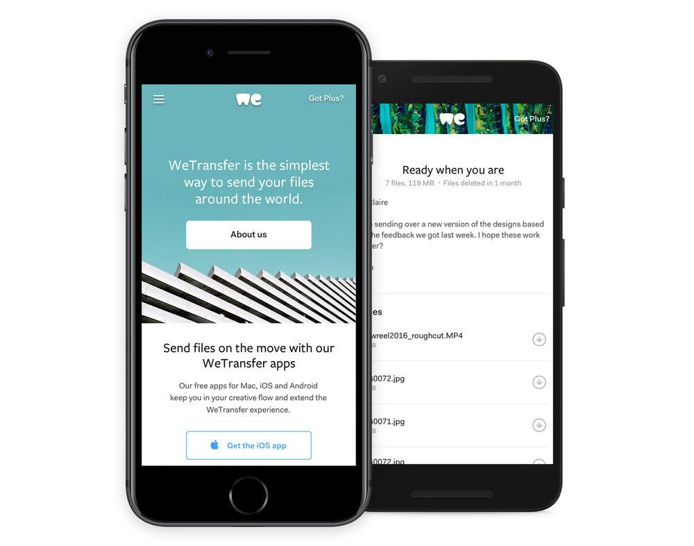 «El feedback de nuestros usuarios ha influido en muchas de los decisiones de diseño del nuevo WeTransfer», Laszlito Kovacs - 4