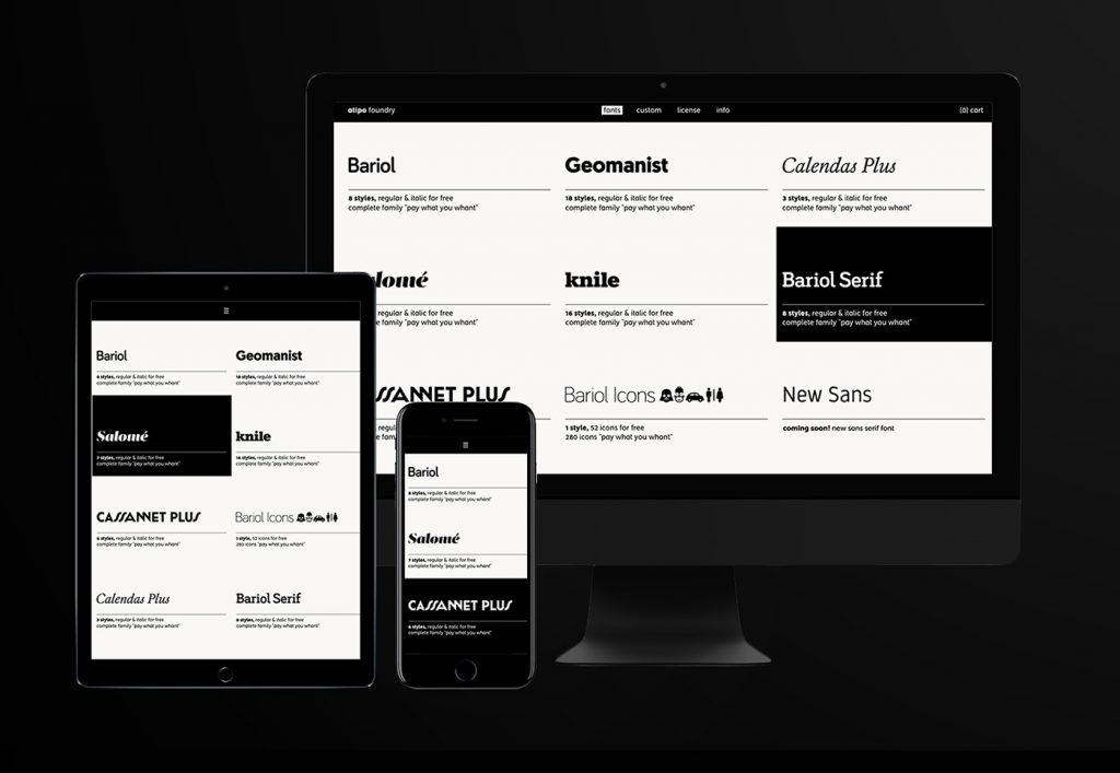 Atipo Foundry nace con un gran descuento en tipografías bajo el brazo - 8