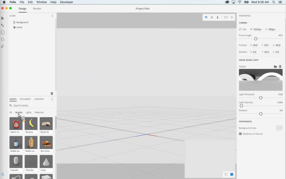 Project Felix, el nuevo programa de Adobe para la creación de gráficos 3D - 1