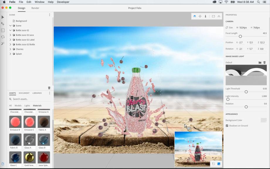 Project Felix, el nuevo programa de Adobe para la creación de gráficos 3D - 5