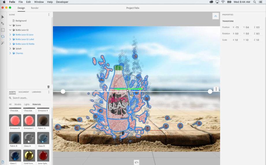 Project Felix, el nuevo programa de Adobe para la creación de gráficos 3D - 6