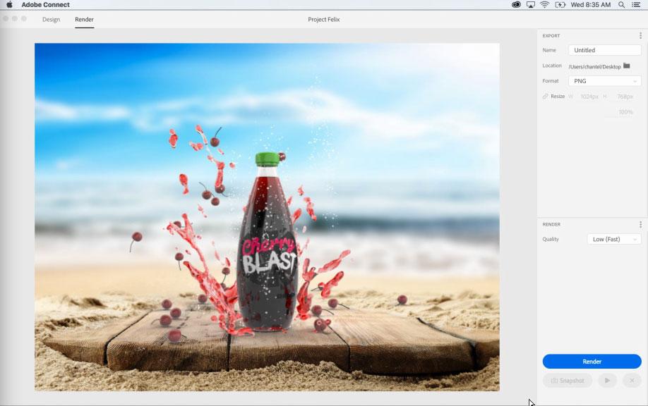 Project Felix, el nuevo programa de Adobe para la creación de gráficos 3D- 8