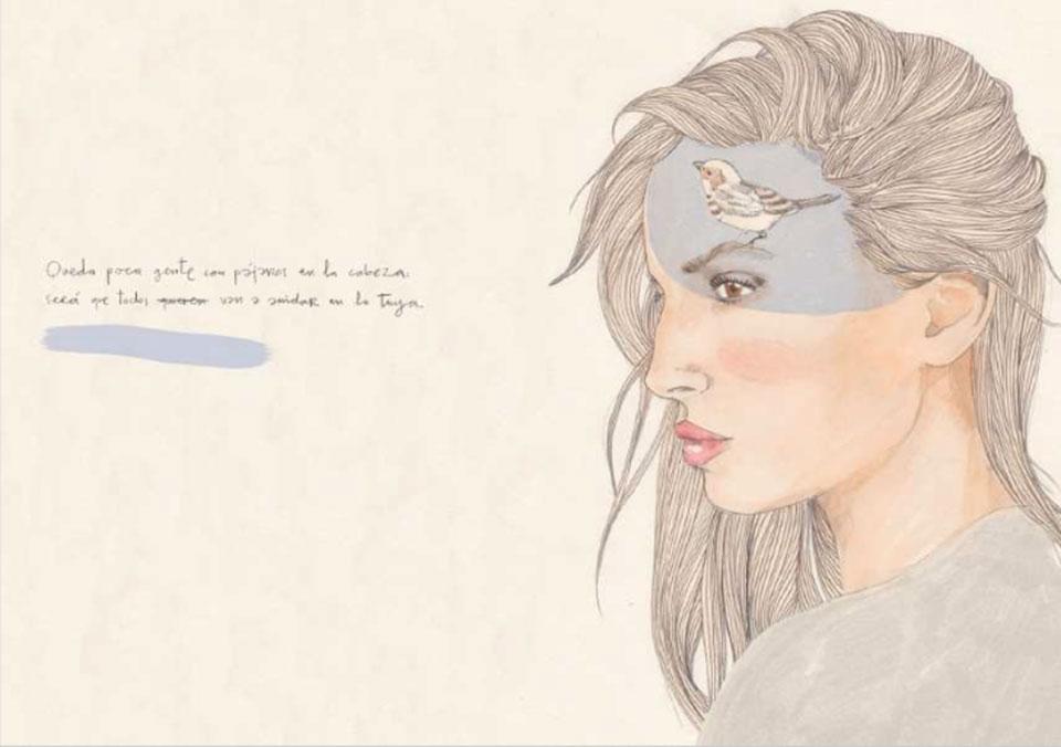 Anatomías Íntimas - Carlos Sadness - Mujer con pluma1