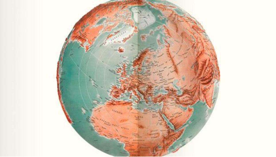 Cartografía siglo XX en Biblioteca Británica1