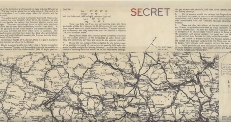Mapas secretos - Cartografia siglo XX Londres1