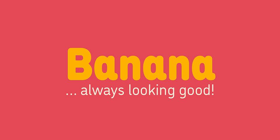 DINousaur como Banana - Tipografía Josema Urós1