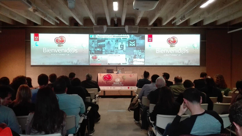 Adobe Creative Meetup Madrid - 1