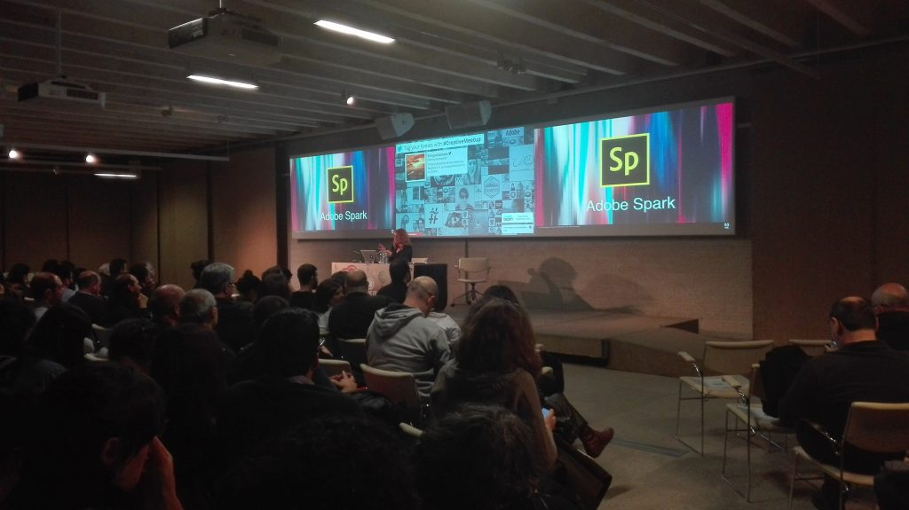 Adobe Creative Meetup Madrid - 2