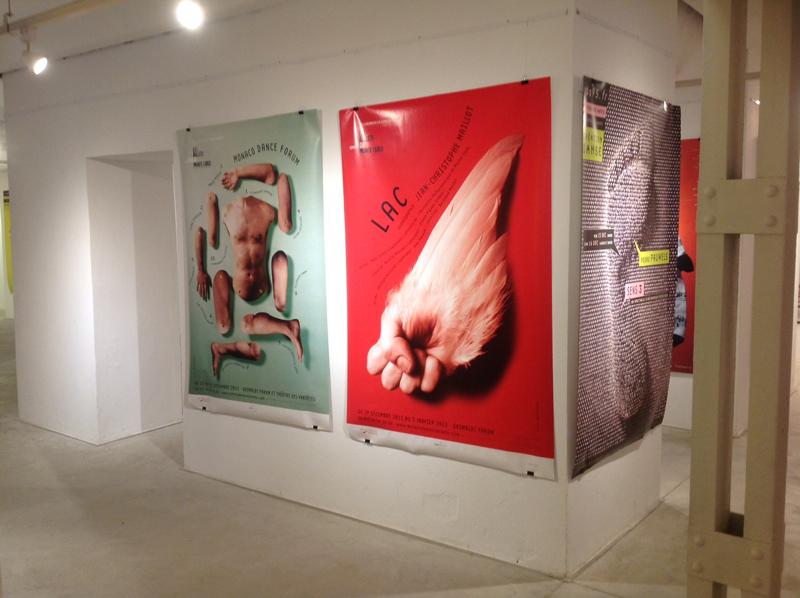 Diseño de afiches para el Ballet de Montecarlo (2012)