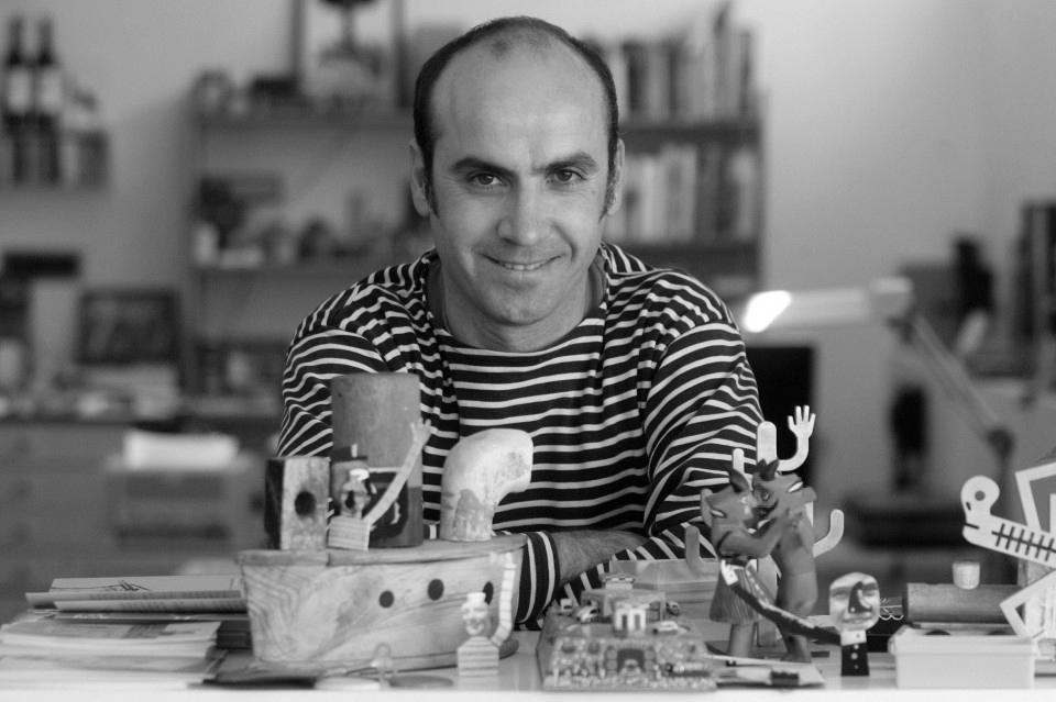 Isidro Ferrer en el tercer número de la revista Gràffica 'La formación en diseño'