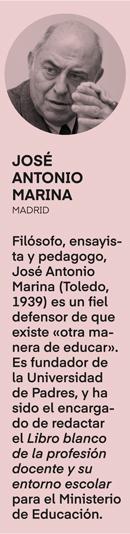 «El talento se encuentra al final de la educación», José Antonio Marina- 2