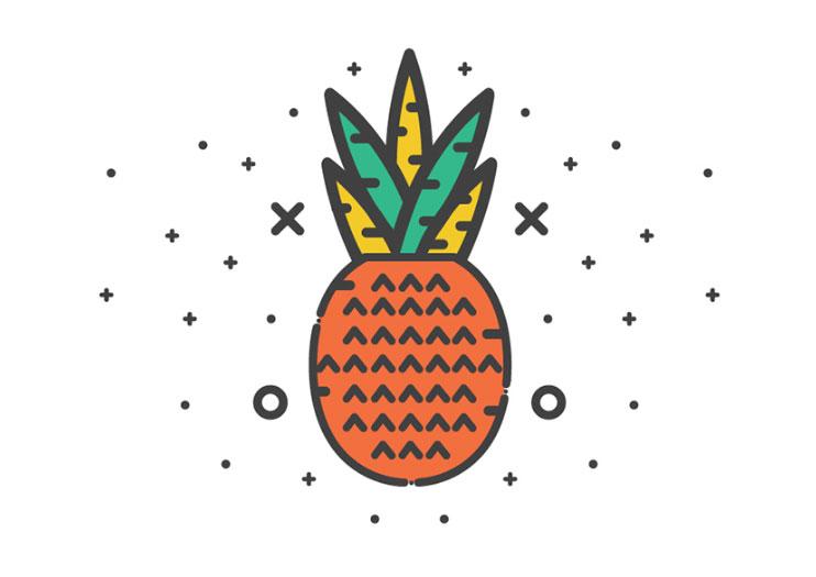 Miscelánea de iconos gratuitos con un espíritu alegre y de tendencia nostálgica 14