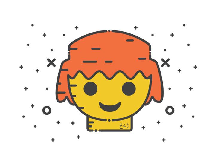 Miscelánea de iconos gratuitos con un espíritu alegre y de tendencia nostálgica 19