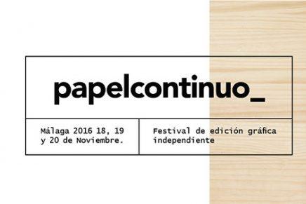 Papelcontinuo, un festival dedicado a la edición gráfica a pequeña escala