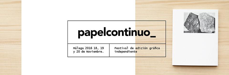 Festival de edición gráfica independiente Papelcontinuo1