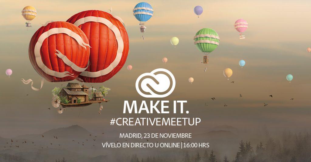 Adobe desvela las últimas novedades en Creative Cloud y tú puedes experimentarlo en directo