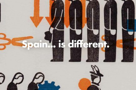 'Spain… is different', el universo visual de Gerd Arntz por BunkerType